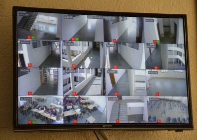 CCTV Footage of College