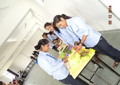 Salad Competition inl College