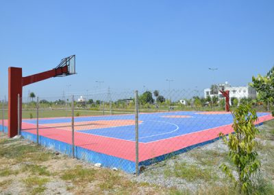 Basketball Ground in College